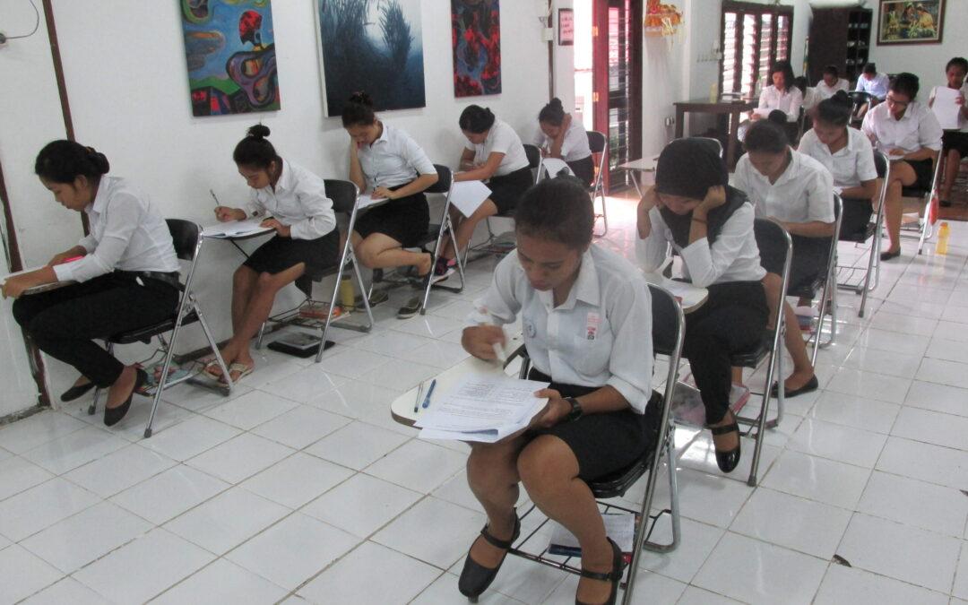 Week 10 | Term 4, December 18th 2017 | Bali WISE Skills Education