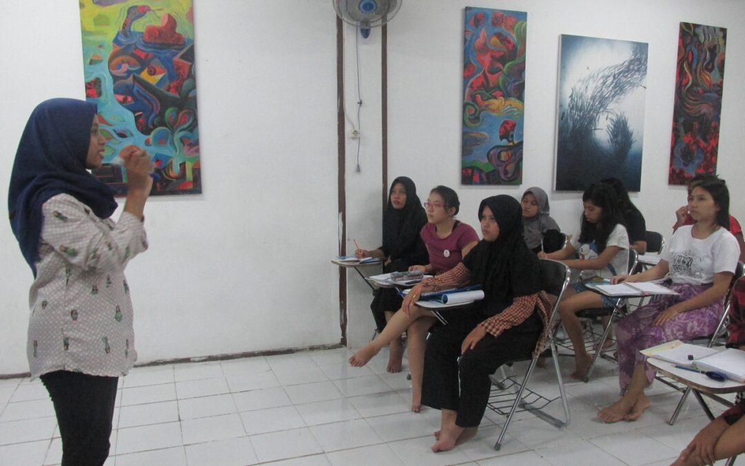Bali WISE Night Classes and Night Activities, Week 10, Intake 35.