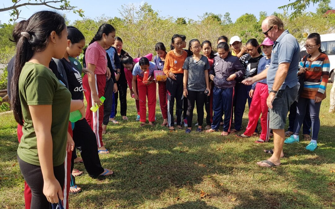 Intake 36 Outdoor Class at Community Environment & Skills Center