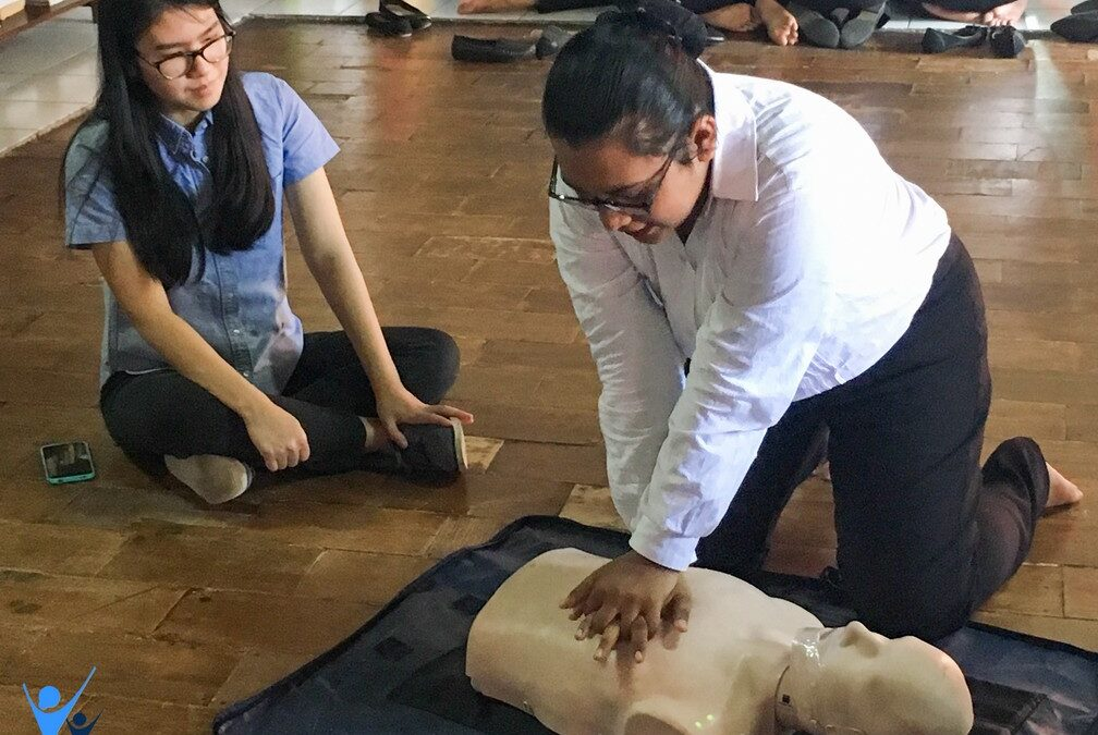 First Aid Training for Intake 40