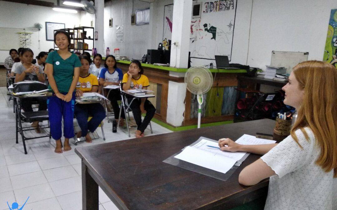 English Night Class With Ms. Svenja