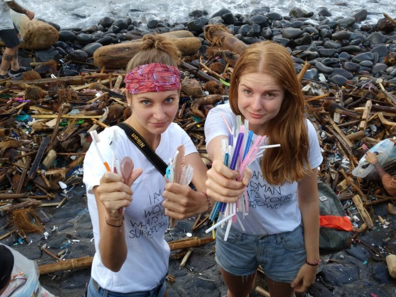 Beach Cleanup With Island Tattoo Connection