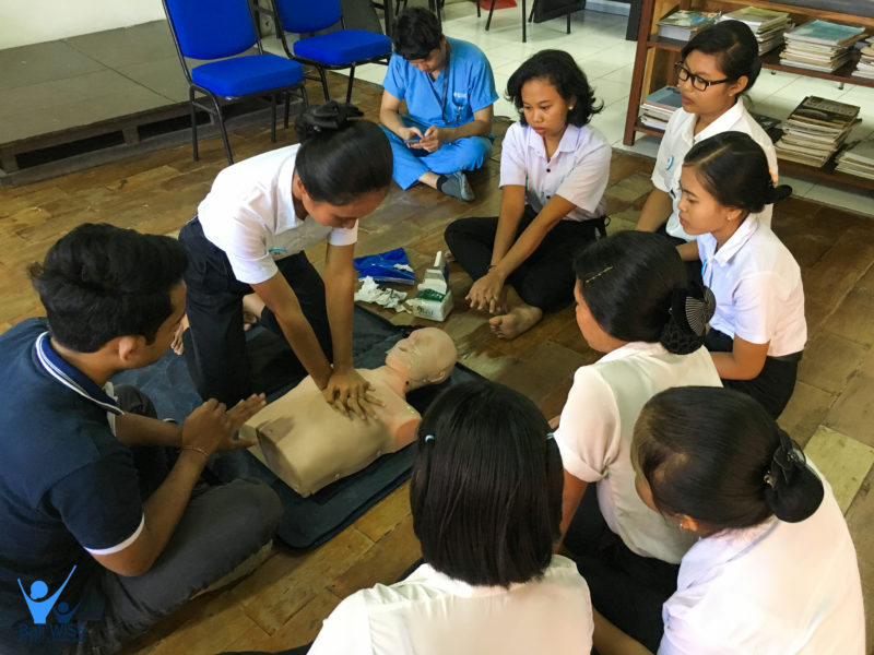 First Aid Training and Basic Life Support with BIMC Hospital – Intake 41