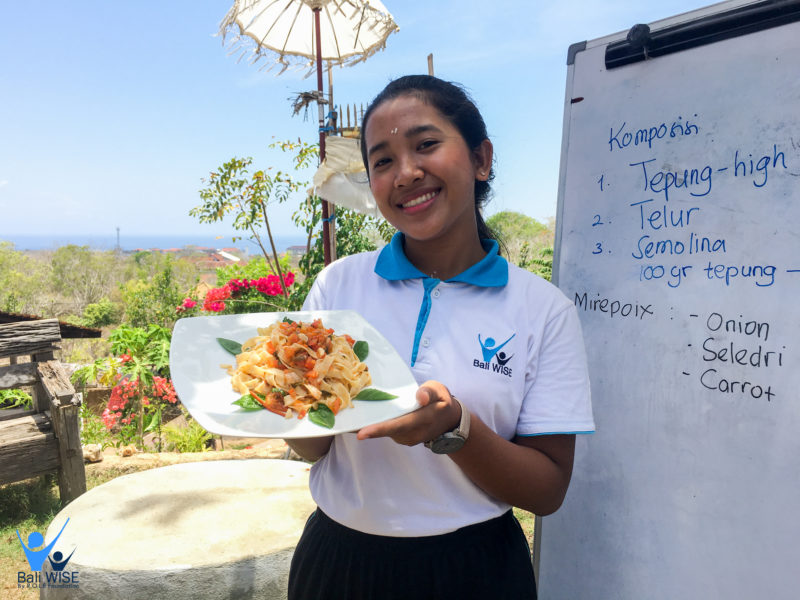 Pasta Cooking Class With Nature Landscape – Intake 42