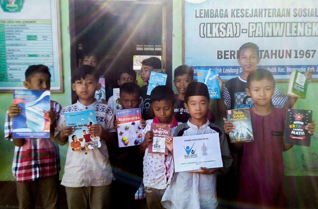 WISE in Action: Book Donation for Children's Literacy